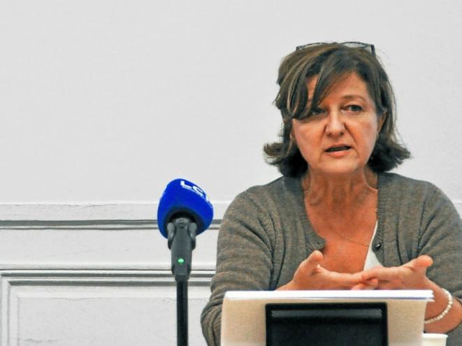 Emmanuelle Amar, directrice du registre Remera. © ALP
