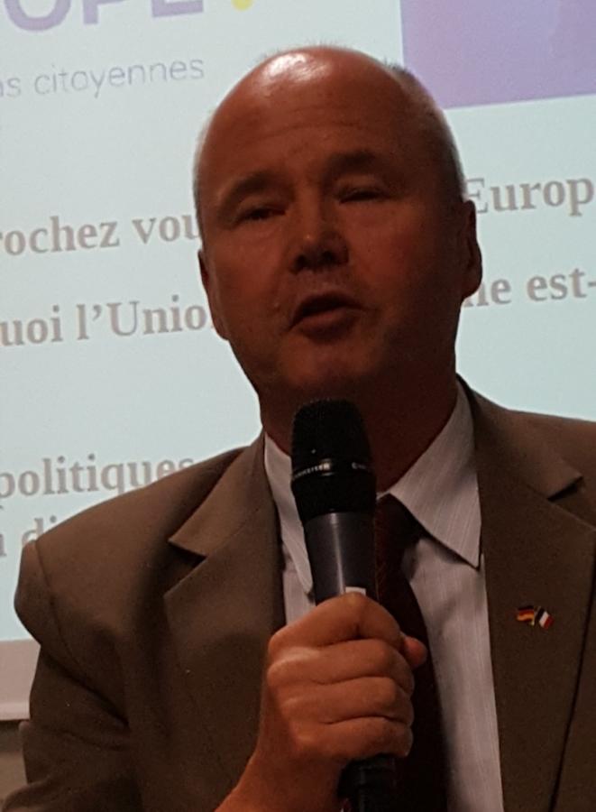 M.Wolfgang Thoran,Consul Général Adjoint d'Allemagne en poste à Marseille. © Philippe Léger
