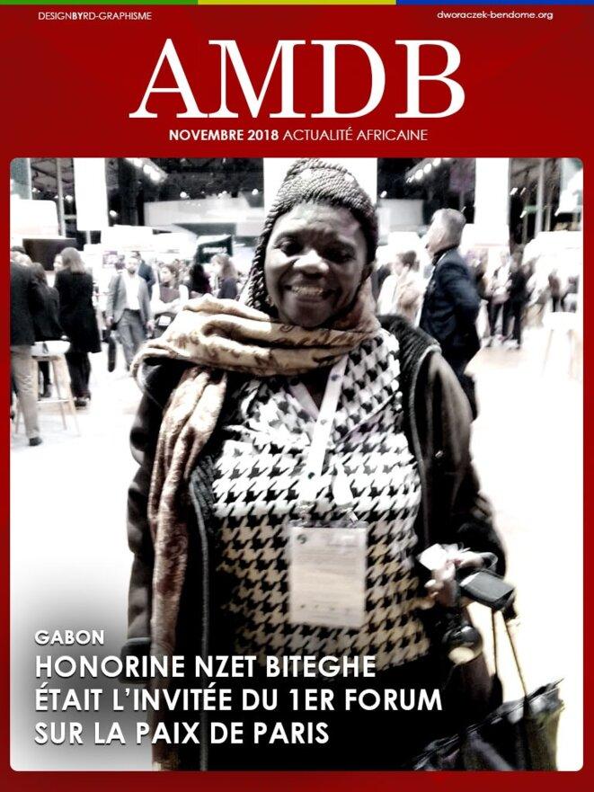 Mme Honorine Nzet Biteghe du Gabon