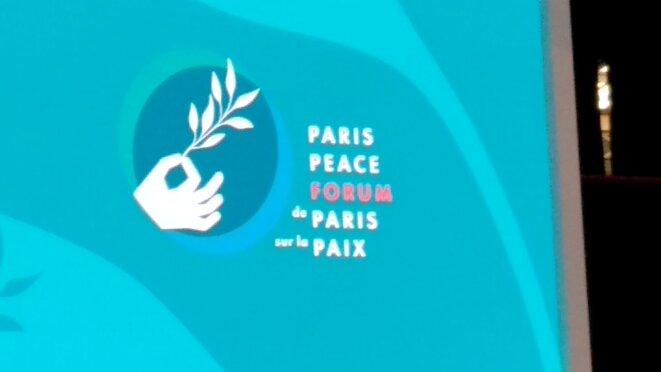 1er forum sur la Paix de Paris