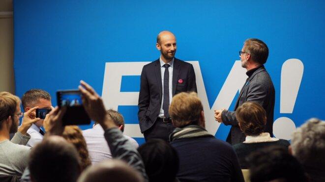 Stanislas Guerini, principal candidat au poste de délégué général de LREM. © DR