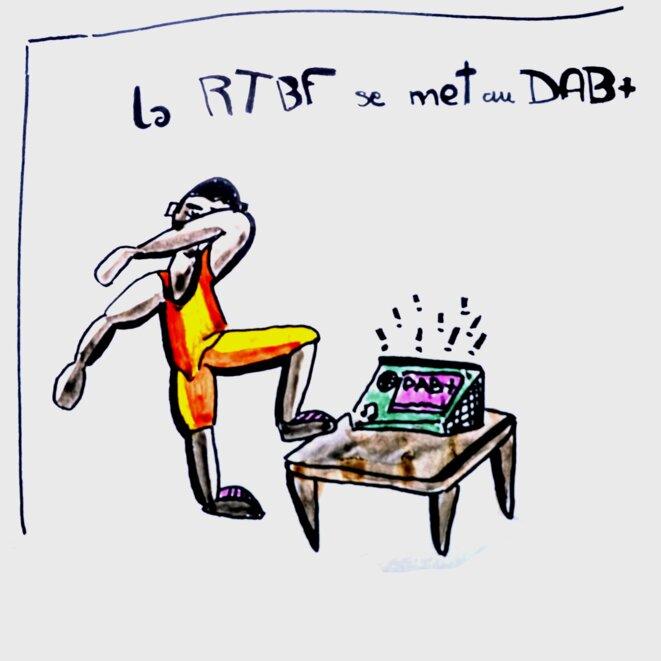 DAB+ au son de ta radio © Matt Tomate