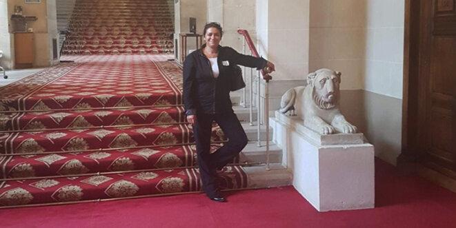 La présidente du Parti Démocrate, Natacha Jacquemard. © photo privée