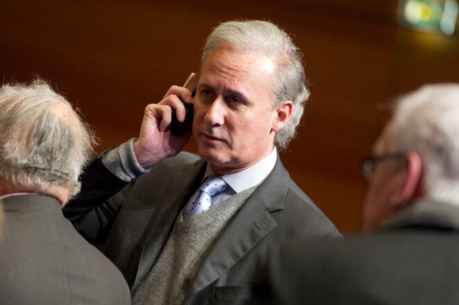 Georges Tron en 2012. © Reuters