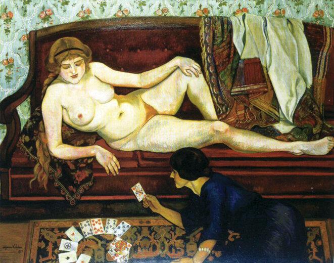 La tireuse de cartes, Suzanne Valadon, 1912