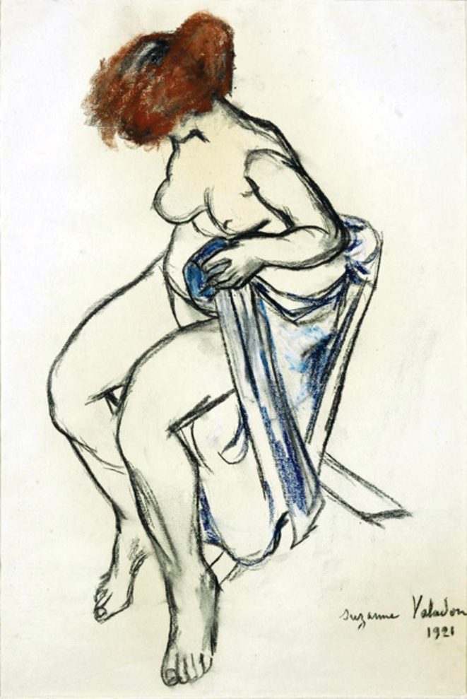 Femme assise, Suzanne Valadon, 1921