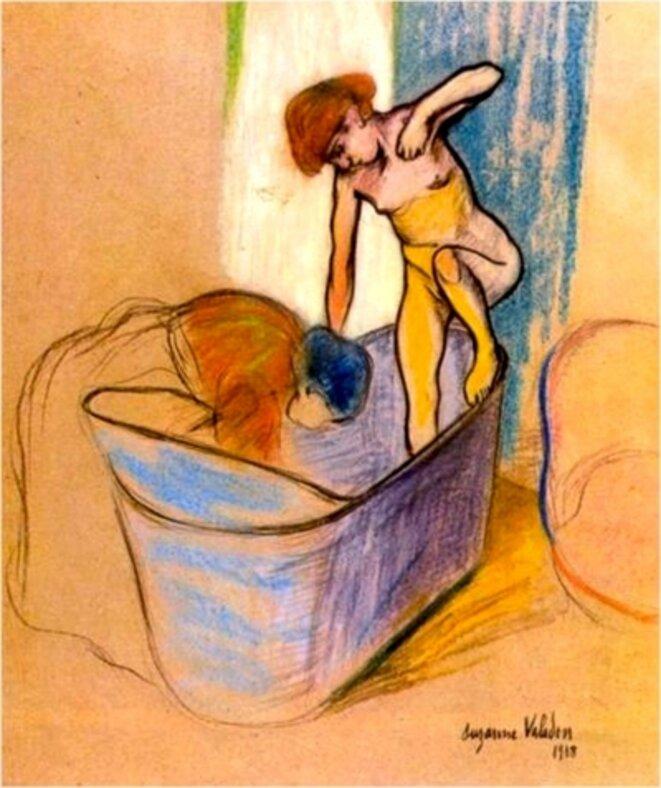 Le bain, Suzanne Valadon, 1908