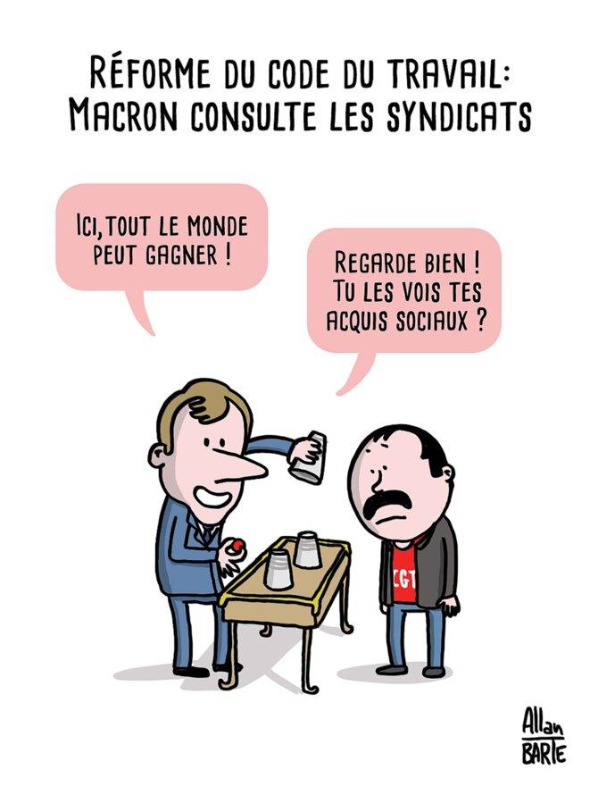 code-du-travail-concertation-macron-martinez