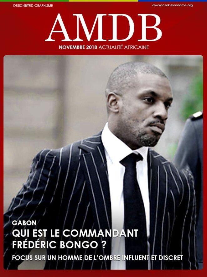 Gabon-Commandant Frédéric Bongo Ondimba