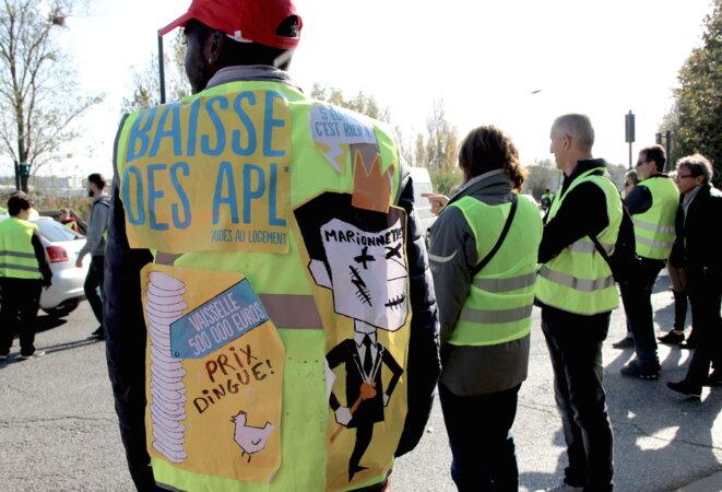 À Toulouse, Medaji, syndicaliste de 28 ans, espère que le mouvement va se structurer. © ER