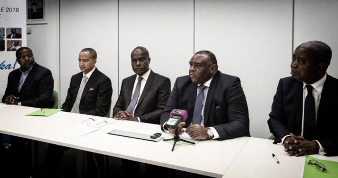Martin Fayulu obtient le soutien des quatre autres leaders de l'opposition © Twiiter - DR