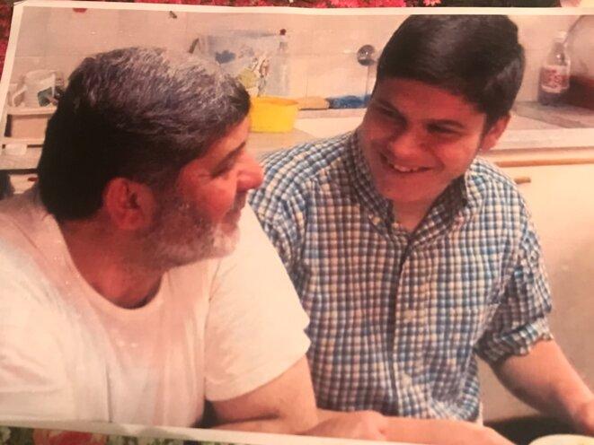 Mazen et Patrick Dabbagh, peu de temps avant leur arrestation. © DR