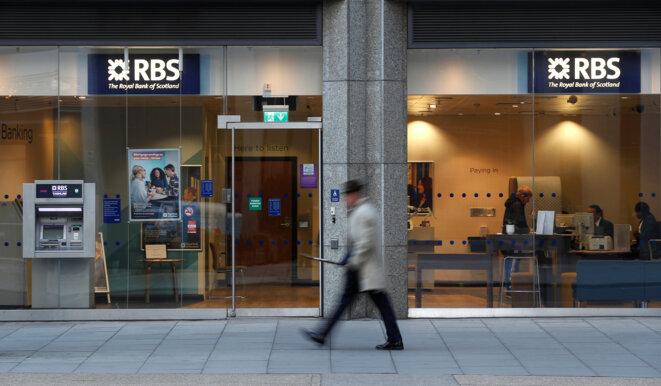Une agence de RBS à Londres, en décembre 2017. © Reuters / Peter Nicholls
