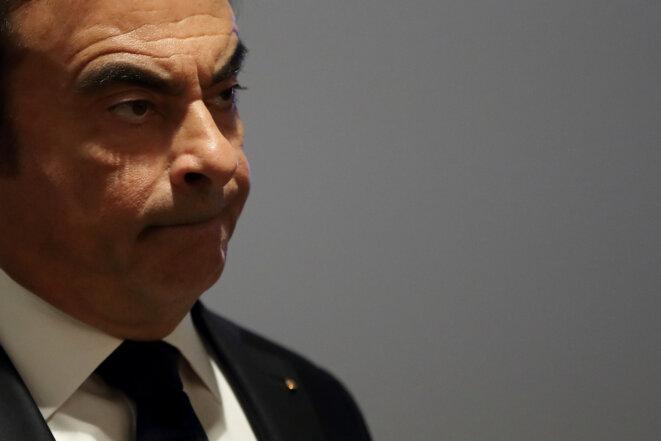 Carlos Ghosn, le patron de Renault et de Nissan, a été arrêté au Japon. © Reuters/Gonzalo Fuentes
