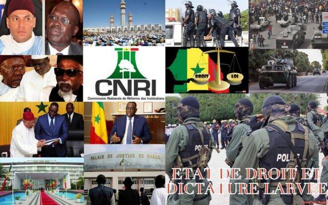 De l'État de droit à la dictature larvée