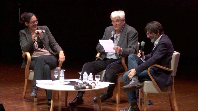 Michel Bataillon au centre des  débats © dr