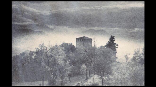 La tour des chiens près de Grenoble © dr