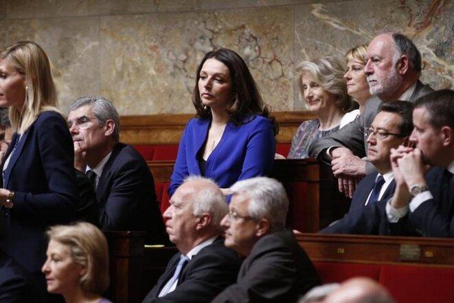 Valérie Boyer dans l'Hémicycle en 2015. © Reuters