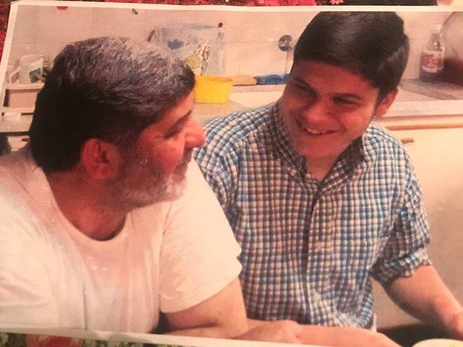 Mazen y Patrick Dabbagh, poco tiempo antes de su arresto. © DR