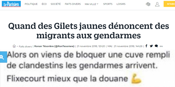 gilets-jaunes-denoncent-migrants