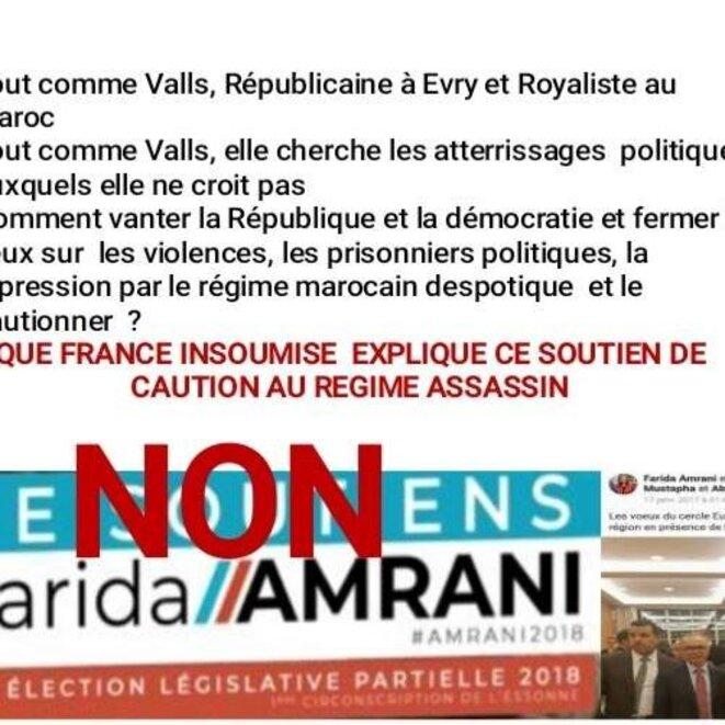 Législative Evry 2018 - Non à la République Paillasson de la monarchie absolue