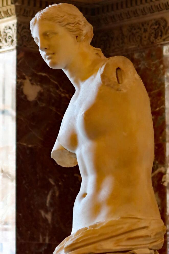 12-Vénus de Milo encastrement de l'épaule