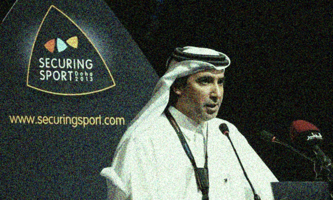 Mohammed Hanzab, president of the ICSS, based in Doha, Qatar. © ICSS
