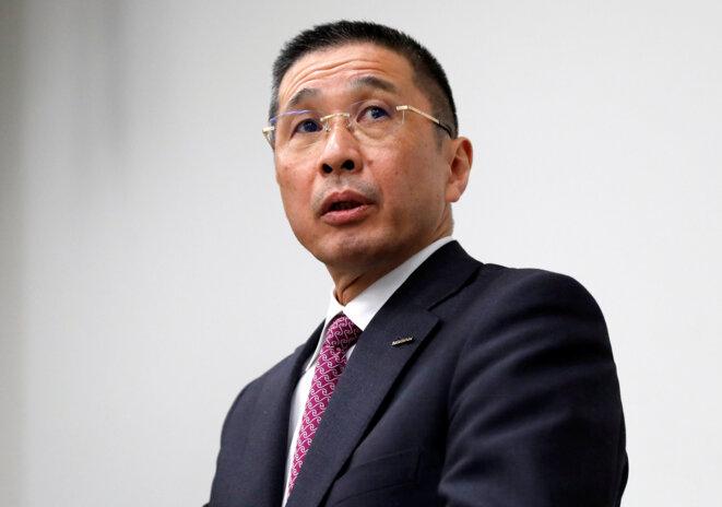 Hiroto Saikawa, numéro deux de Nissan. © Reuters