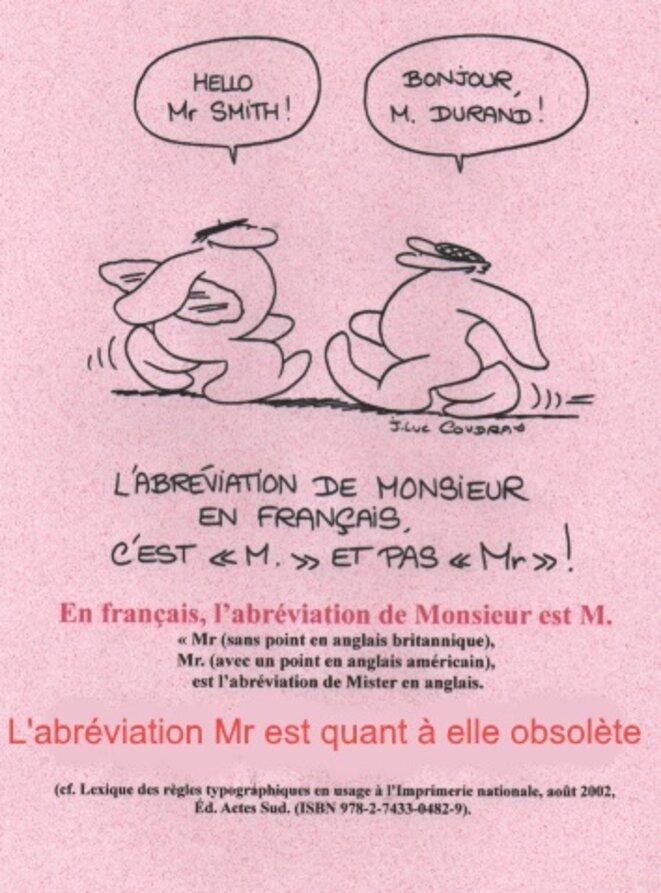 Monsieur © x