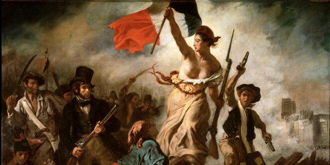 La Liberté guide le peuple © Delacroix