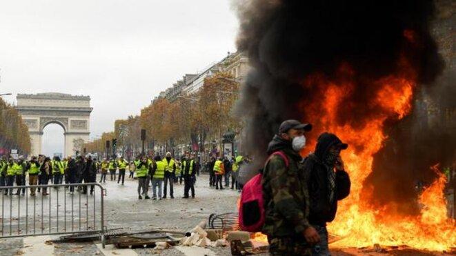 Vive la révolution © Gilets jaunes