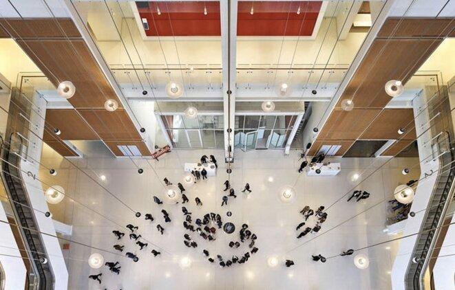 Le nouveau Palais de justice de Paris. © Mairie de Paris