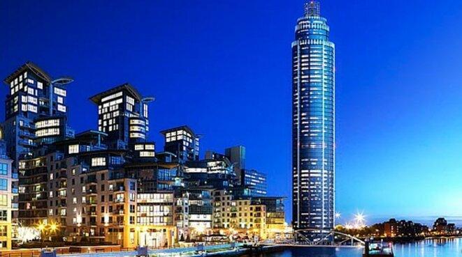 The Tower, la très luxueuse tour londonienne où Eric Arnoux s'est établi