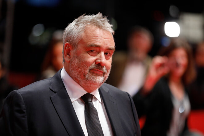 French producer and director Luc Besson, February 17th 2018. © Reuters