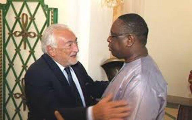Reconverti conseiller de plusieurs chefs d'Etat africains, DSK peine à convaincre Macky Sall © dakaractu