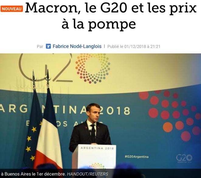 http://www.lefigaro.fr/conjoncture/2018/12/01/20002-20181201ARTFIG00183-macron-le-g20-et-les-prix-a-la-pompe.php