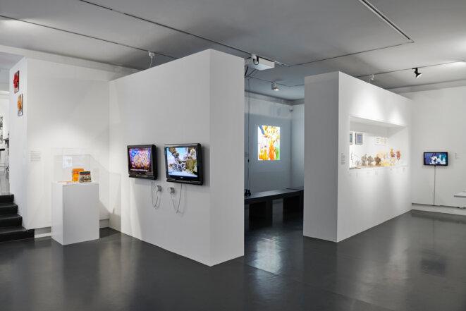 """""""Histoires à modeler"""", vue de l'exposition, MUDAC, Musée de design et des arts appliqués contemporains, Lausanne © Daniela Droz & Tonatiuh Ambros"""