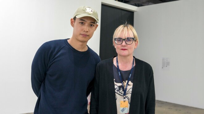 Heecheon Kim and Hilde Teerlinck, Gwangju 2018