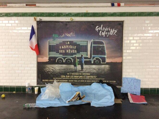 Métro Saint-Lazare, photo ER