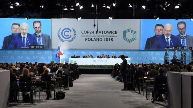 L'ouverture de la COP24 à Katowice. © Reuters