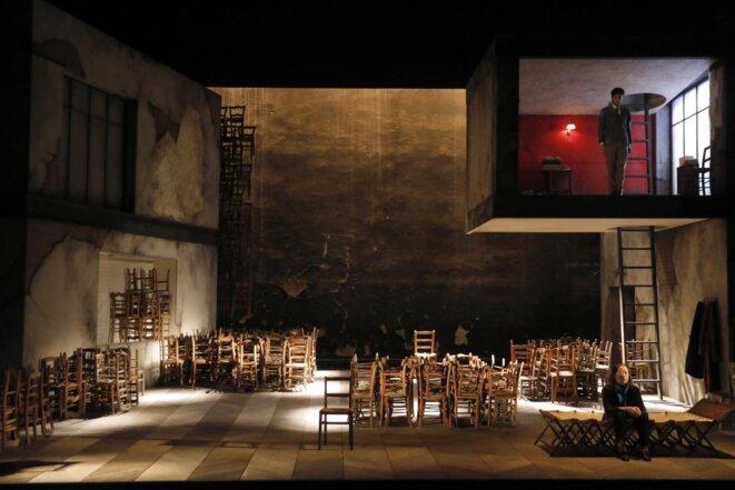 """Jean Bellorini, """"Un instant"""", d'après Marcel Proust, création, Théâtre Gérard Philipe CDN de Saint-Denis, novembre 2018. © Pascal Victor"""