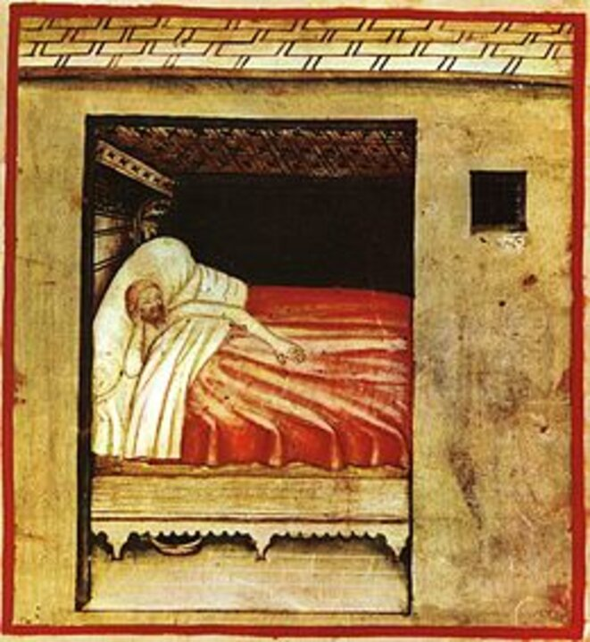 Insomnie © Domaine public Wikipedia