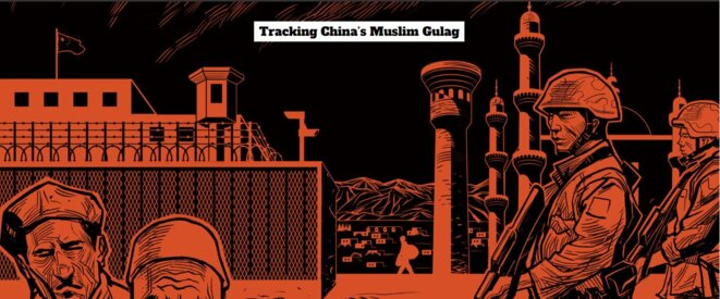 Suivi des goulags musulmans chinois © Reuters/Christian Inton