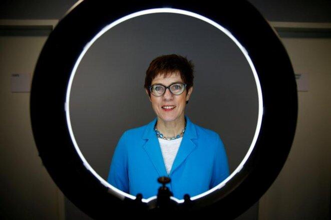 Annegret Kramp-Karrenbauer, le 5 décembre. © Reuters