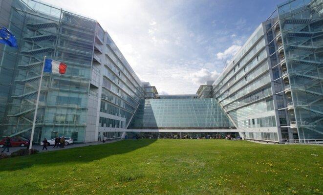 L'hôpital Georges-Pompidou a ouvert ses portes en 2001. © AP-HP