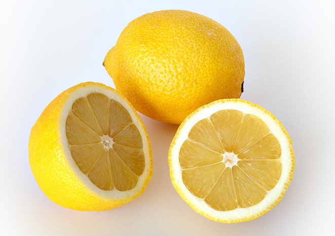 Citron vs bouton © wikipedia
