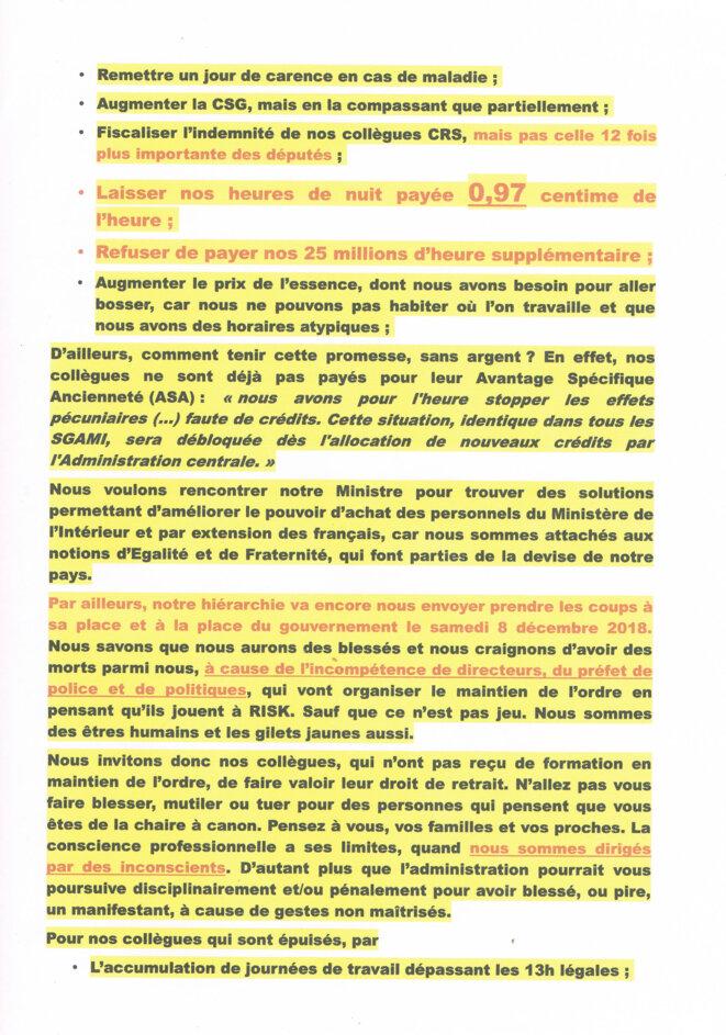 Préavis de grève illimitée déposé dans la Police Nationale à partir du 8 décembre 2018 © https://vigimi.fr/f/actualites-fr/entry/preavis-de-greve-illimitee-depose-dans-la-police-nationale-a-partir-du-8-decembre-2018