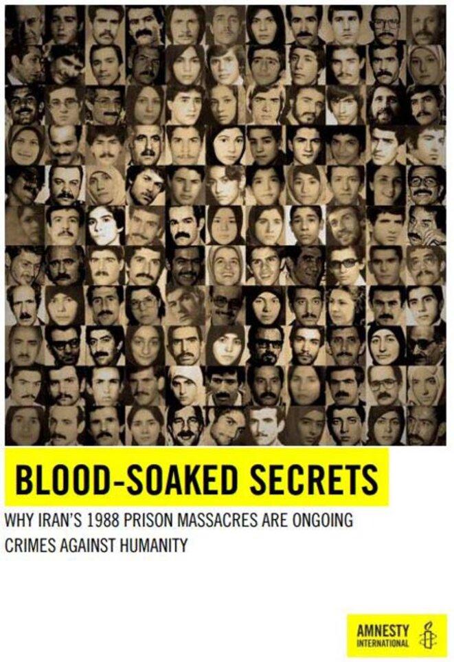 Iran: Amnesty international appelle l'ONU à enquêter sur le drame de 1988