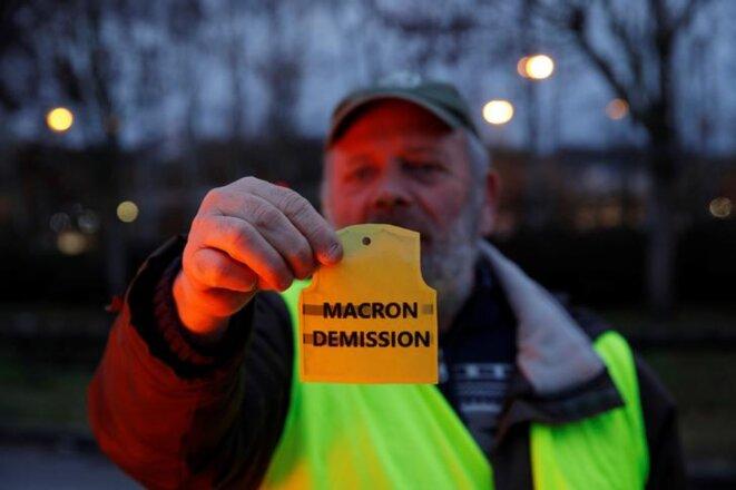 À Gaillon (Eure), le 6 décembre. © Reuters