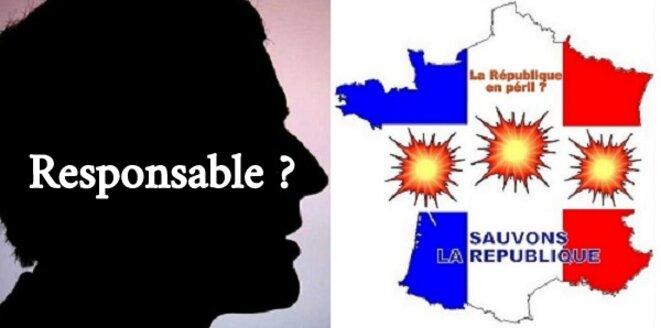 Macron, met-il la République en péril? © Gene REYNAUD